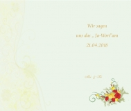 Hochzeitskarte-Muster